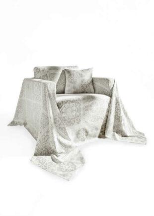 Bavlněná deka s grafickými ornamenty