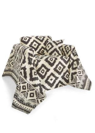 Bavlněná deka s moderním vzorem